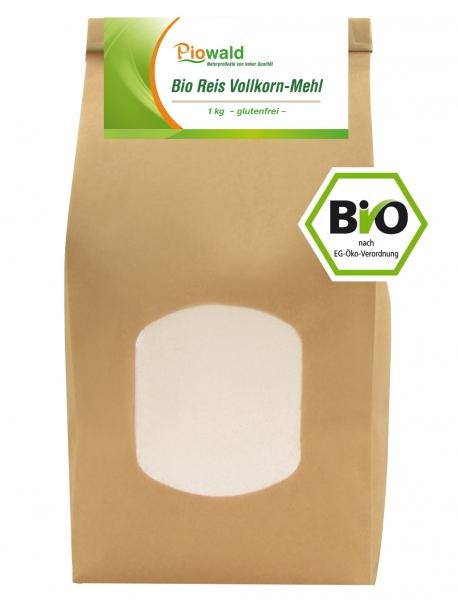 BIO Reis Vollkorn Mehl - 1 kg
