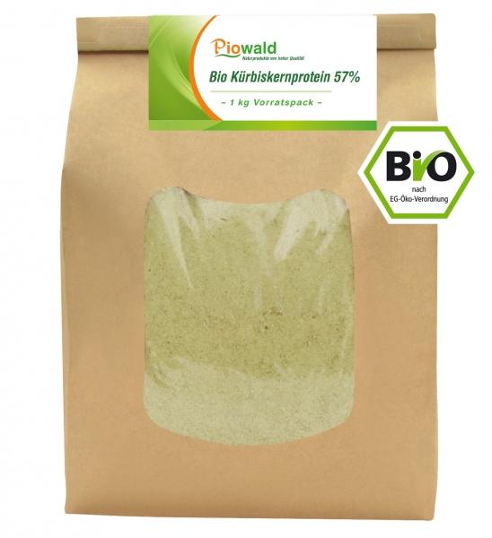 BIO Kürbiskernprotein - 1 kg Vorratspack