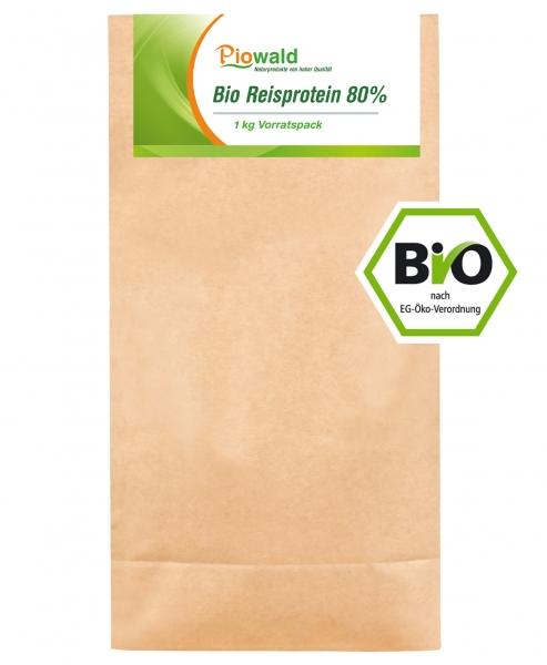 BIO Reisprotein - 1 kg Vorratspack